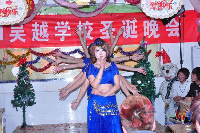 吴越学校2011圣诞联欢会圆满落幕