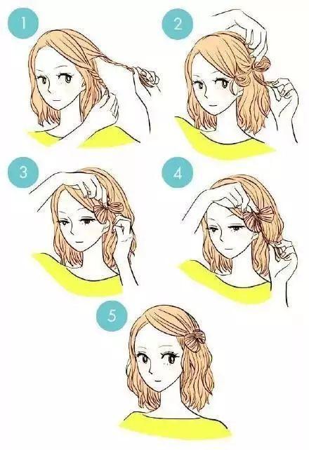 处理刘海的11招,学会你也美美哒