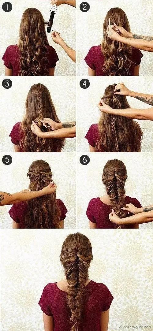 【美发】告别披头散发,扎头发其实木有你想的那么难!