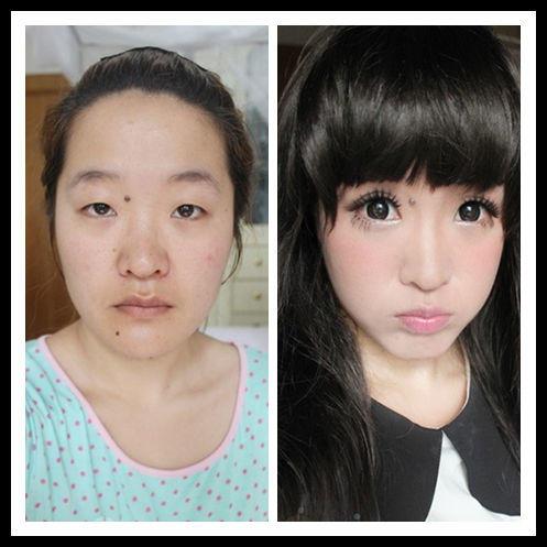 三位保洁阿姨化妆后,惊呆了所有人....
