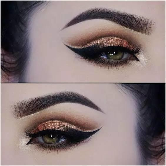 【惊艳】分享一组超棒的创意眼妆~
