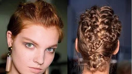 美发|秋天就要扎起来,露颈美发好优雅