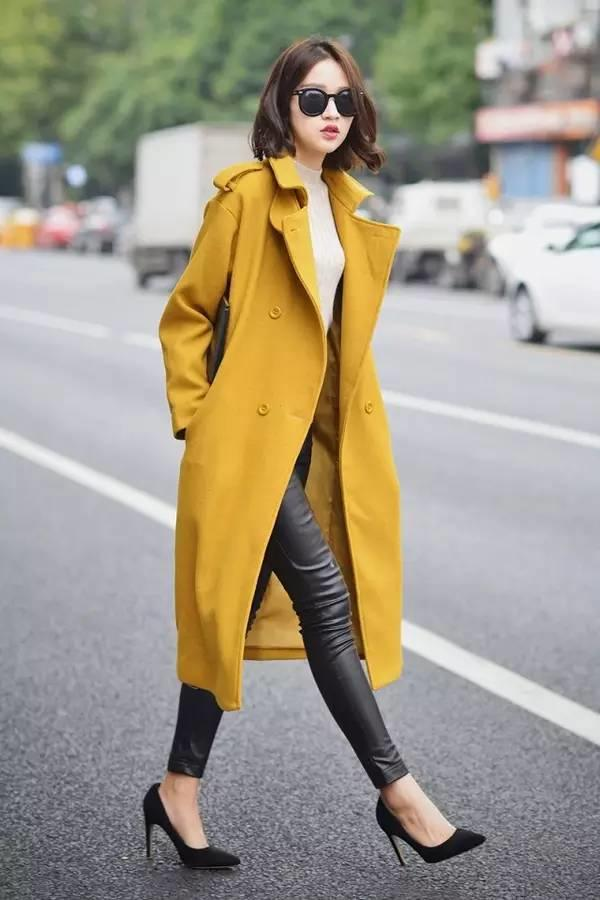 你一定不造,冬季穿这个颜色有多美!