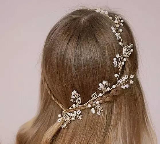 当她盘起这个新娘发型,全世界都为她美哭了!