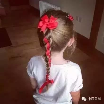 【吴越学校】把女儿的头发扎成这样,太漂亮了!