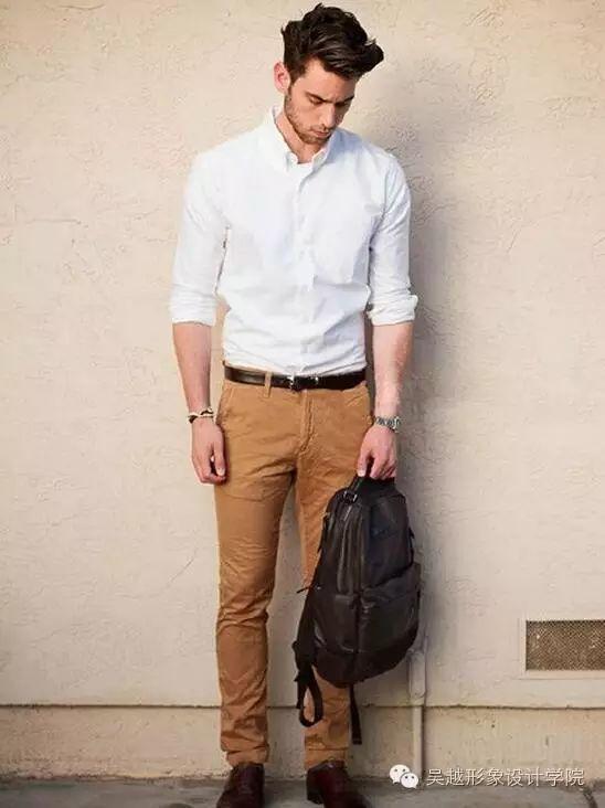 如何搭配男士牛仔裤?来看牛仔裤与T恤的搭配图片