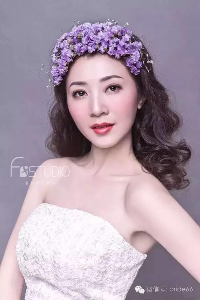 优雅风格新娘发型 唯美高调不夸张