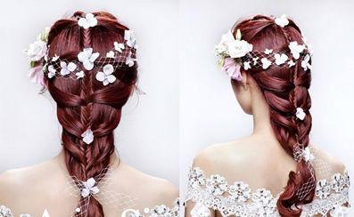 【吴越学校】2014新娘造型 ❤流行趋势 演绎你的公主梦想