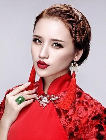 【吴越形象设计学校】2014新娘妆容潮流趋势