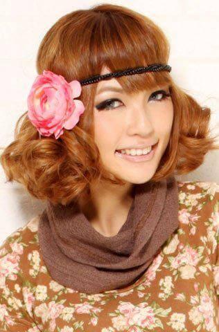 如何扎出好看的发型 发饰能帮你锦上添花