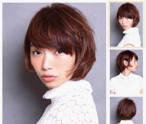 2014最全女生短发发型 甜美灵动最IN