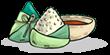 """千山万水粽是情,""""棕意""""你的绿色系美甲,清凉又显白!"""