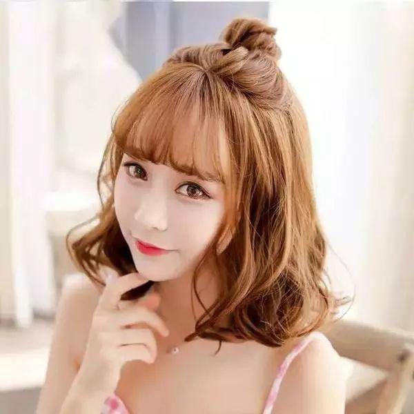 十款简单时尚的女生发型,颜值感爆棚!