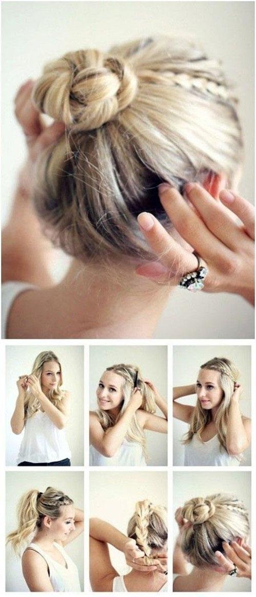 告别披头散发,扎头发其实木有你想的那么难!
