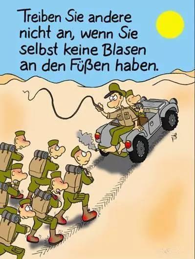 德国流传的漫画:看了我们可以少傻几次