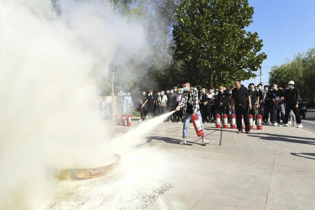 消防安全,生命至上——吴越学校2020年消防演习圆满结束